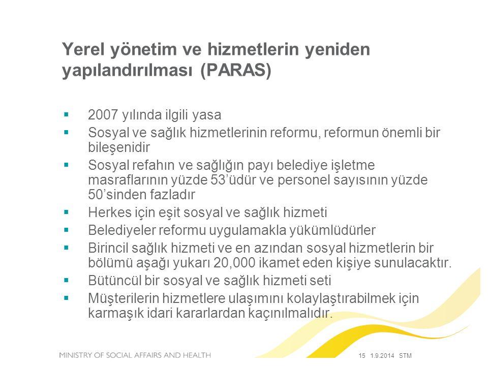 Yerel yönetim ve hizmetlerin yeniden yapılandırılması (PARAS)
