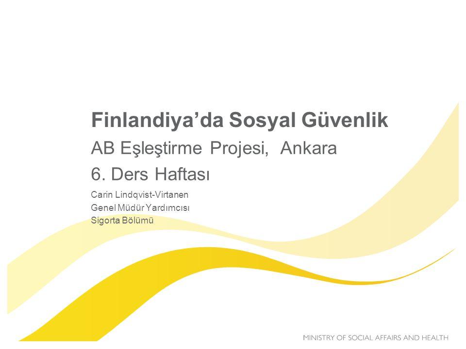 Finlandiya'da Sosyal Güvenlik