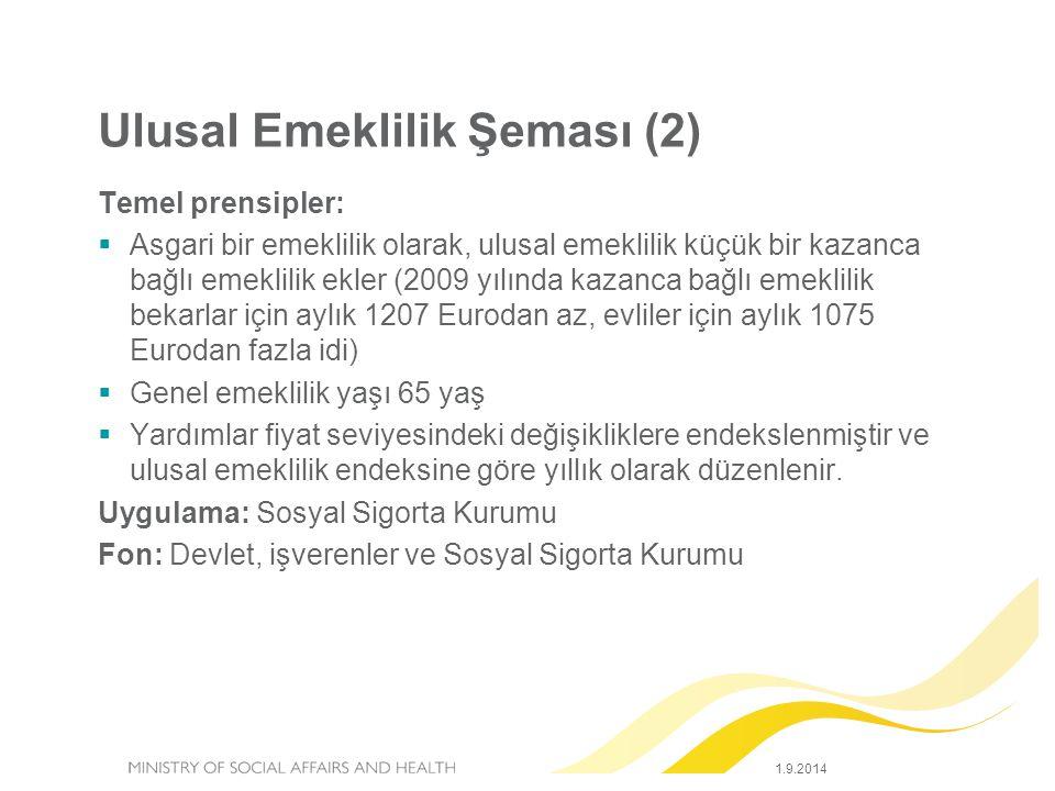 Ulusal Emeklilik Şeması (2)