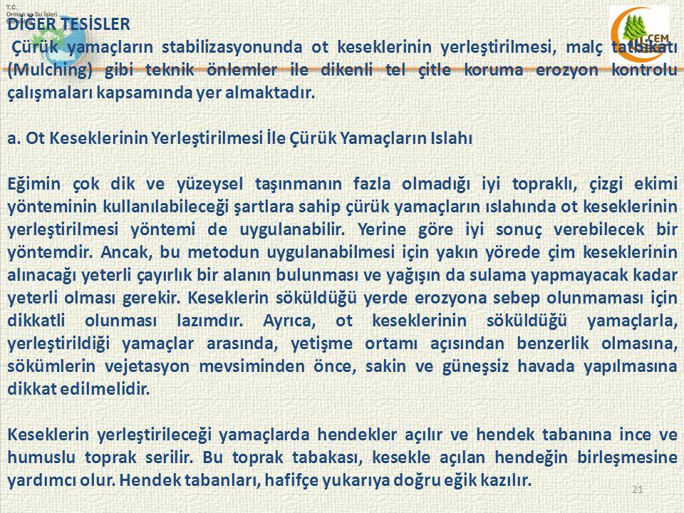 DİĞER TESİSLER