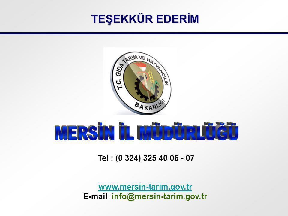 E-mail: info@mersin-tarim.gov.tr