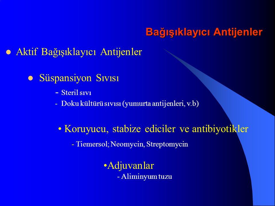 Bağışıklayıcı Antijenler