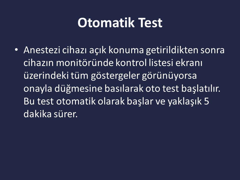 Otomatik Test