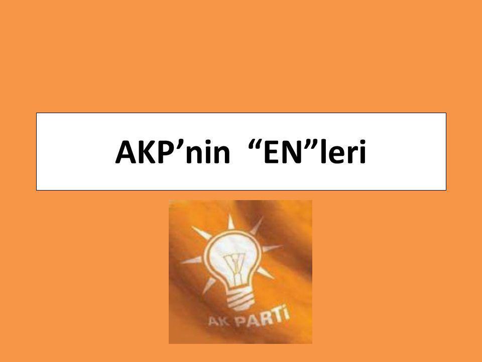 AKP'nin EN leri