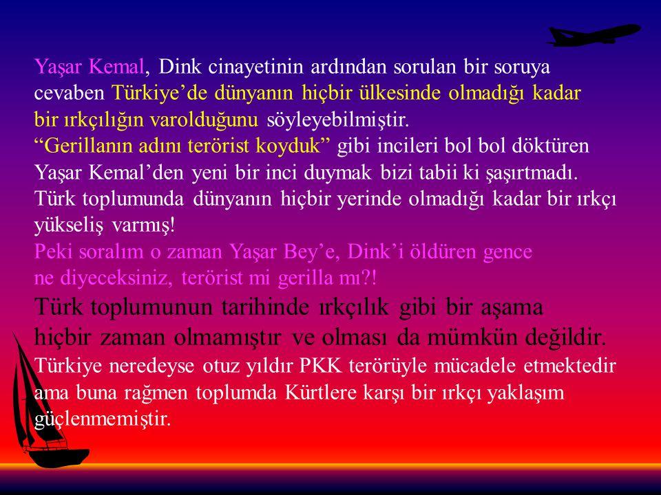 Türk toplumunun tarihinde ırkçılık gibi bir aşama