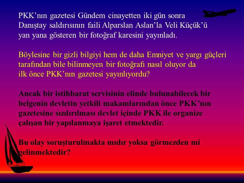 PKK'nın gazetesi Gündem cinayetten iki gün sonra