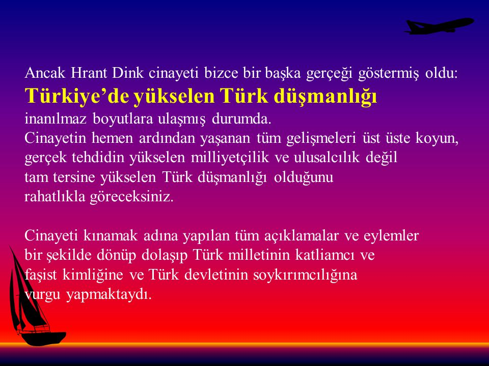 Türkiye'de yükselen Türk düşmanlığı