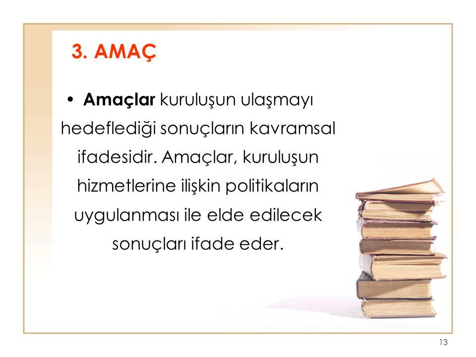 3. AMAÇ