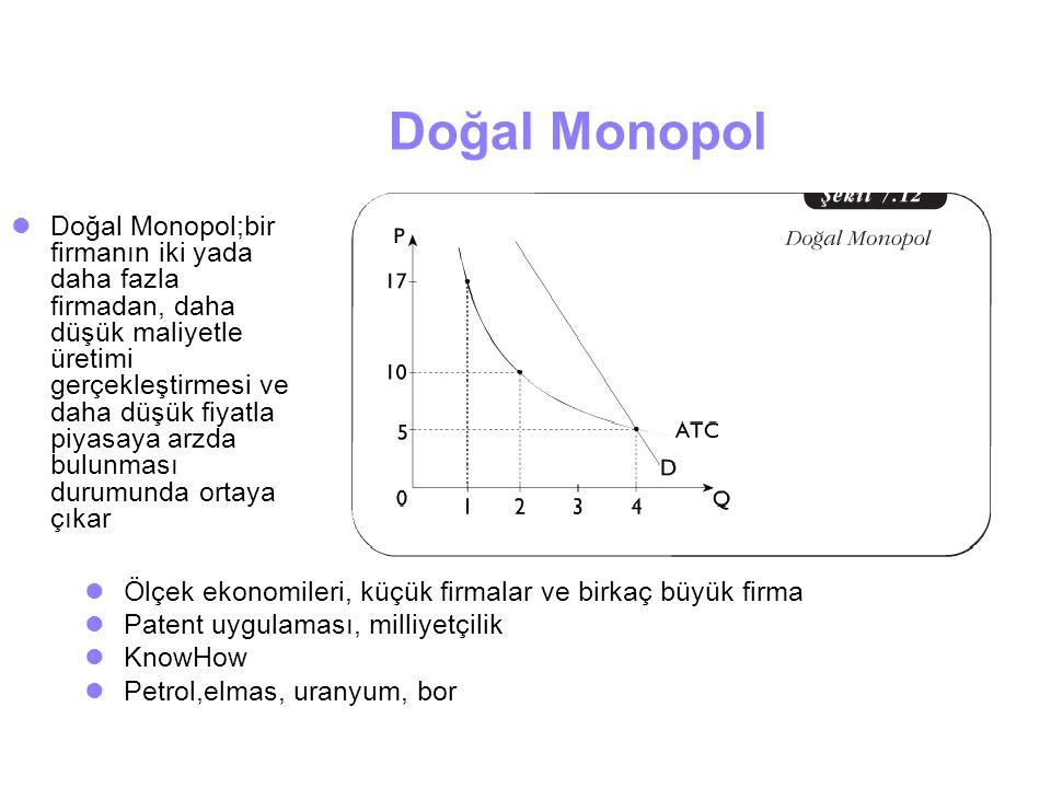 Doğal Monopol