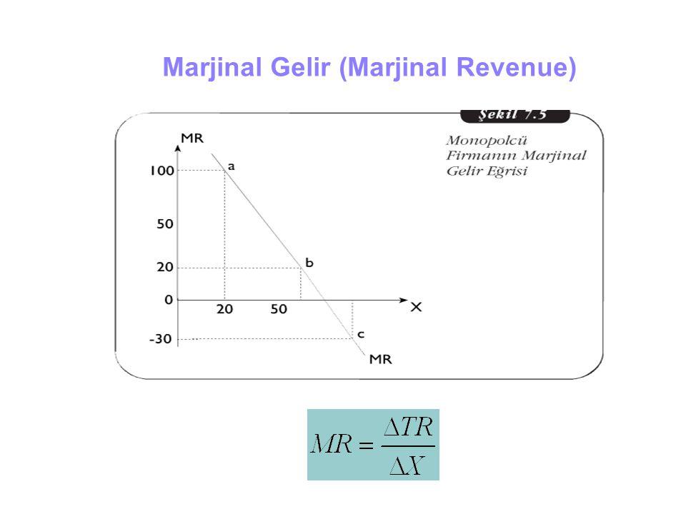 Marjinal Gelir (Marjinal Revenue)