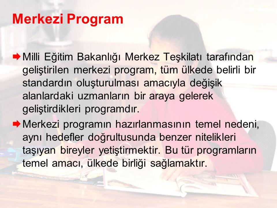 Merkezi Program