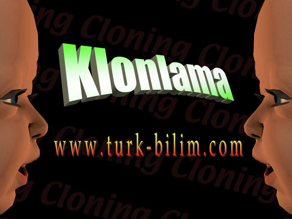 Klonlama www.turk-bilim.com