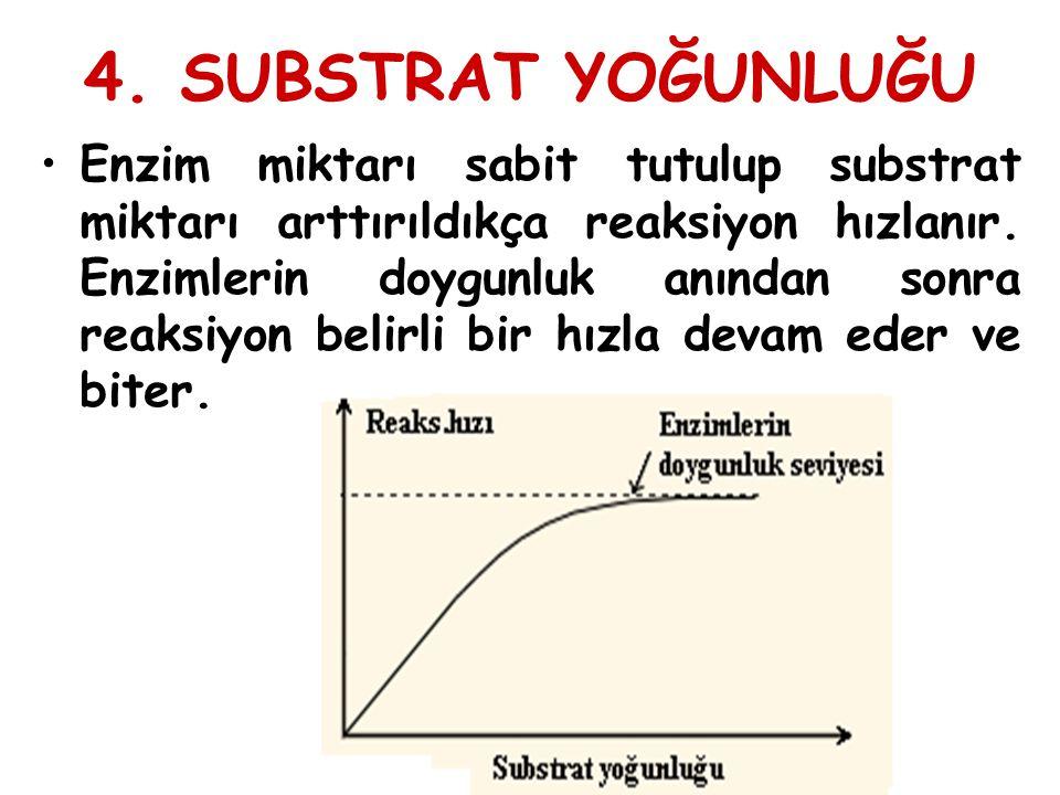 4. SUBSTRAT YOĞUNLUĞU