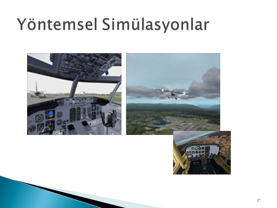 Yöntemsel Simülasyonlar