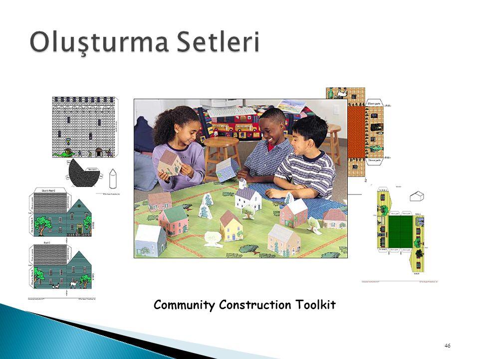 Oluşturma Setleri Community Construction Toolkit