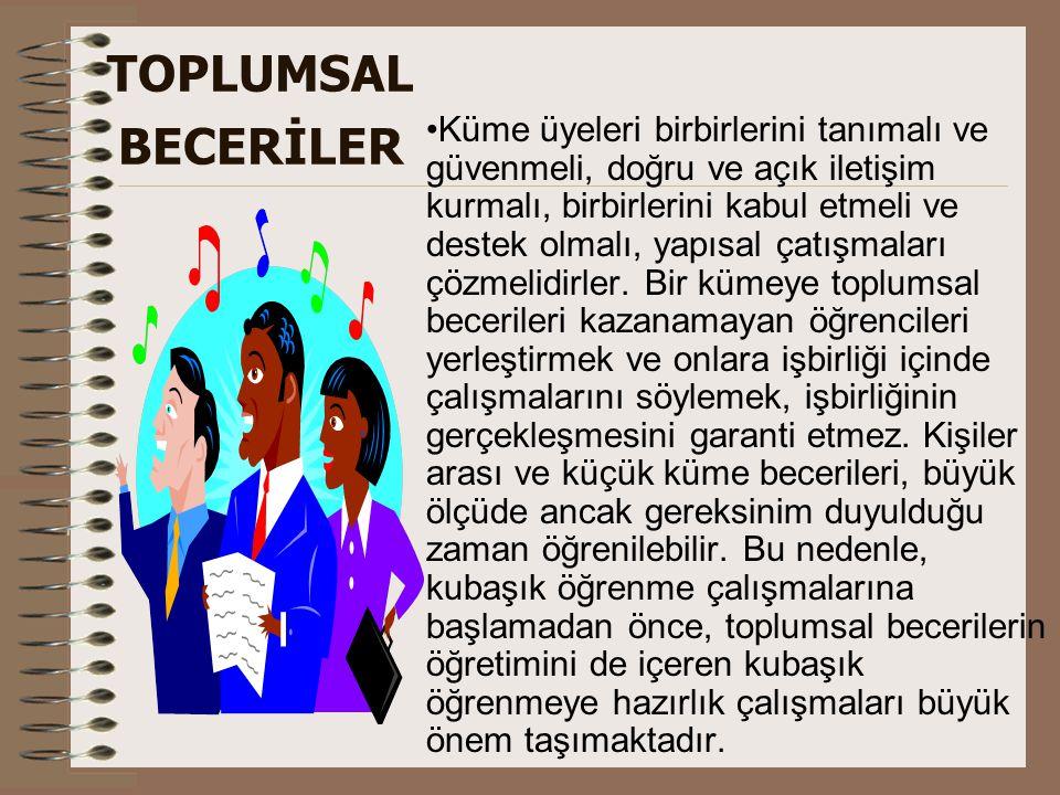 TOPLUMSAL BECERİLER