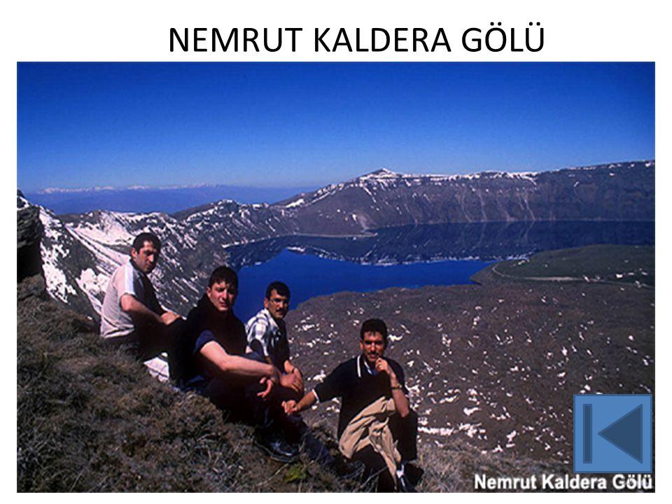 NEMRUT KALDERA GÖLÜ
