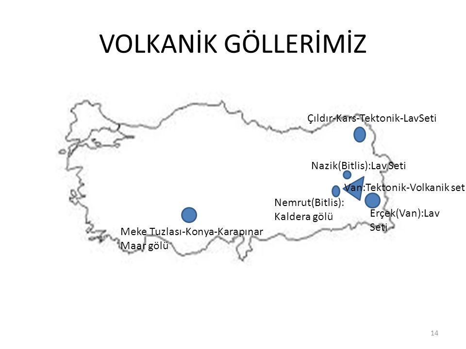 VOLKANİK GÖLLERİMİZ Çıldır-Kars-Tektonik-LavSeti