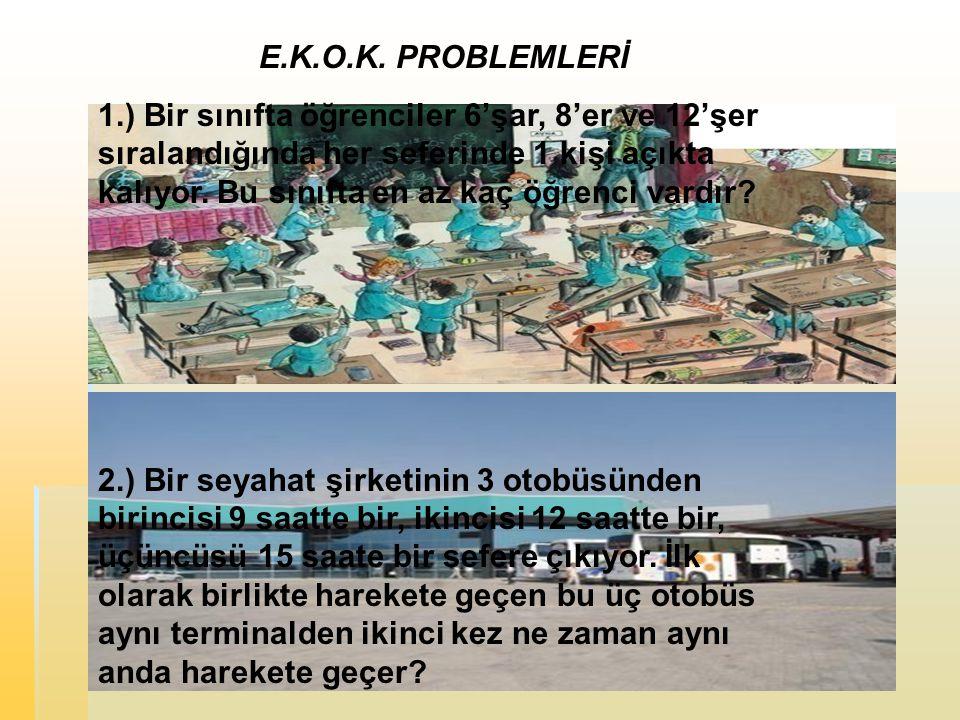 E.K.O.K. PROBLEMLERİ