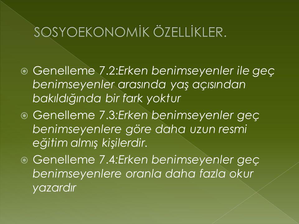 SOSYOEKONOMİK ÖZELLİKLER.
