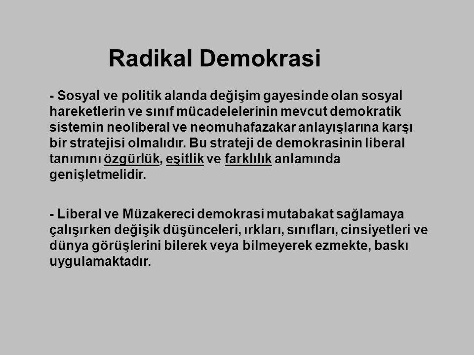 Radikal Demokrasi