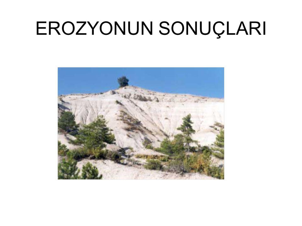 EROZYONUN SONUÇLARI