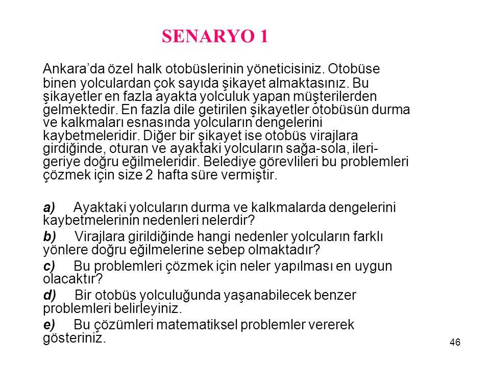 SENARYO 1