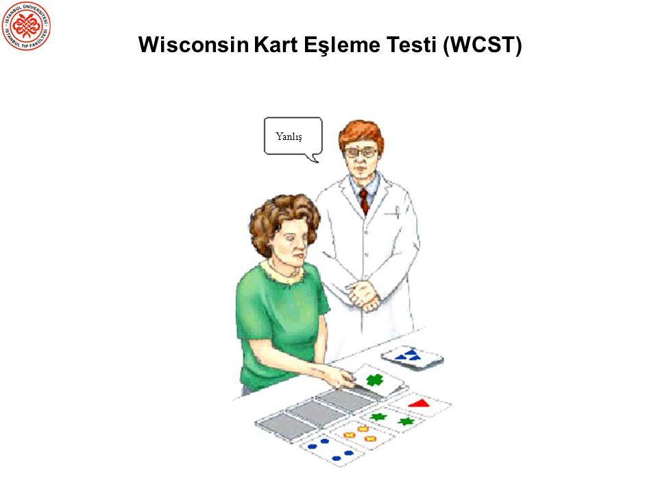 Wisconsin Kart Eşleme Testi (WCST)