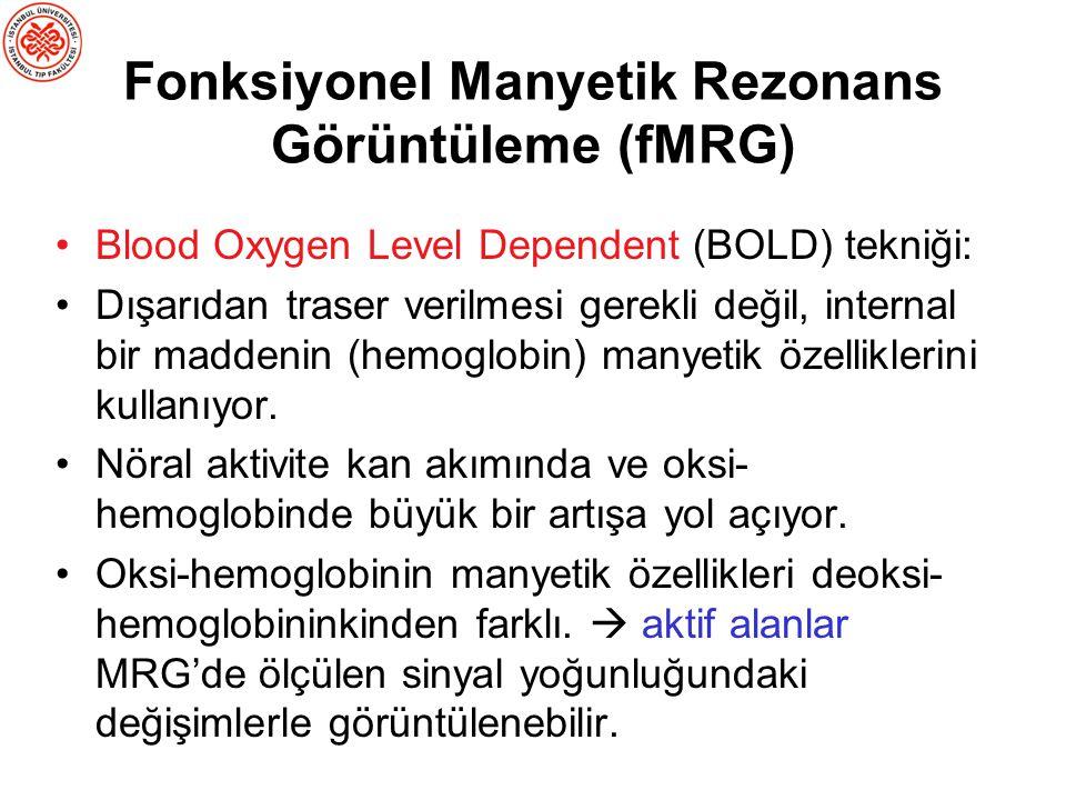 Fonksiyonel Manyetik Rezonans Görüntüleme (fMRG)