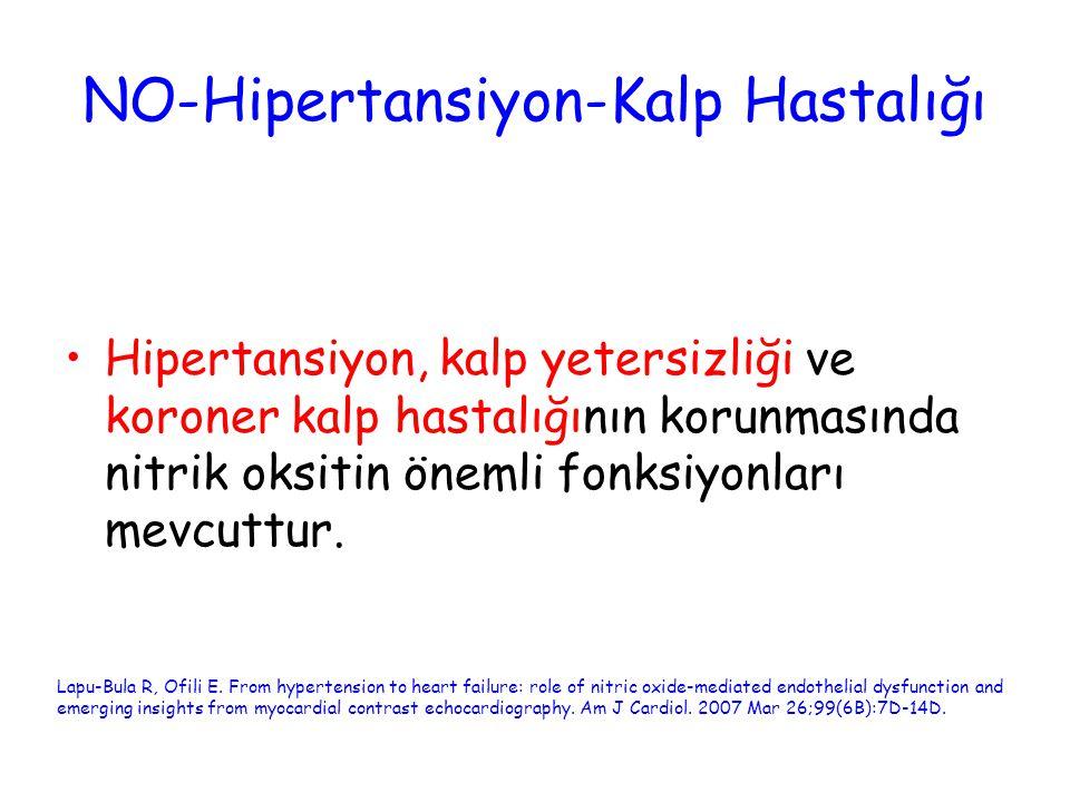 NO-Hipertansiyon-Kalp Hastalığı