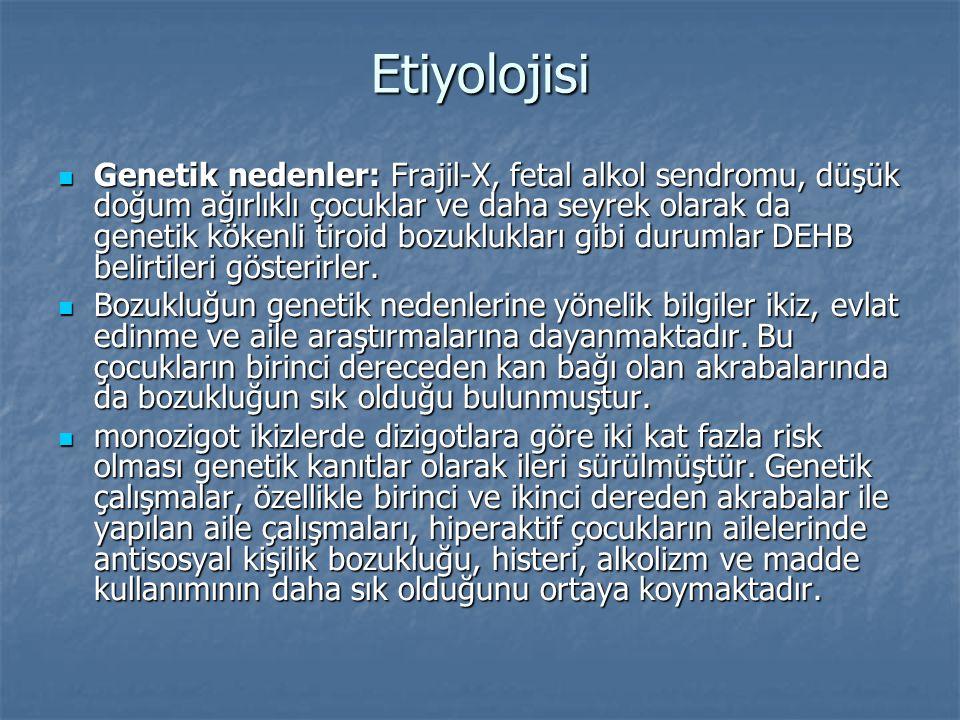 Etiyolojisi