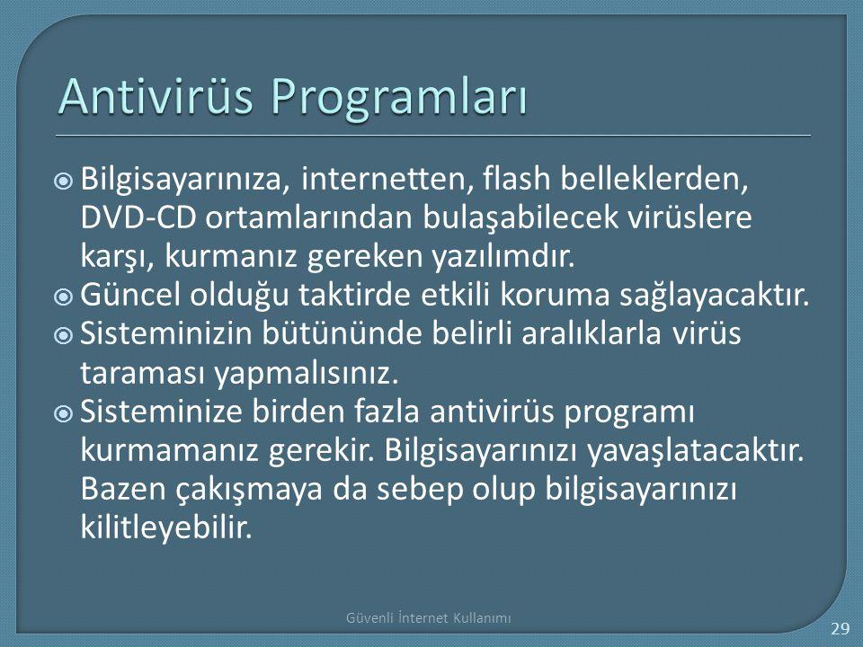 Antivirüs Programları