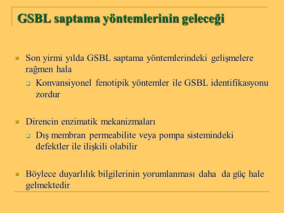 GSBL saptama yöntemlerinin geleceği