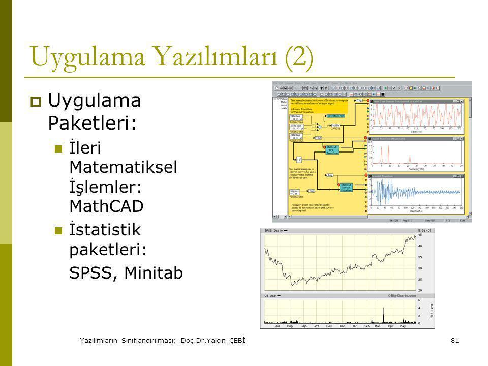 Uygulama Yazılımları (2)