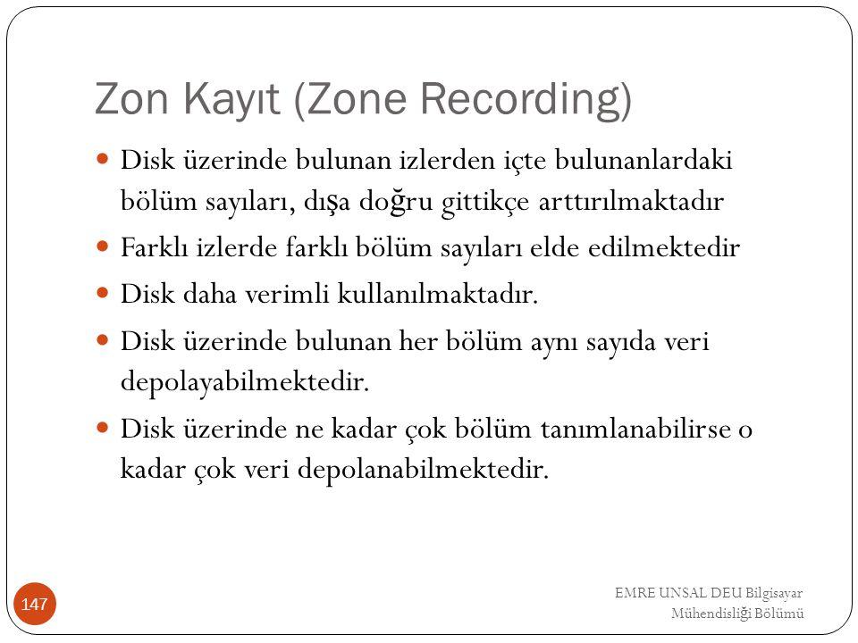 Zon Kayıt (Zone Recording)