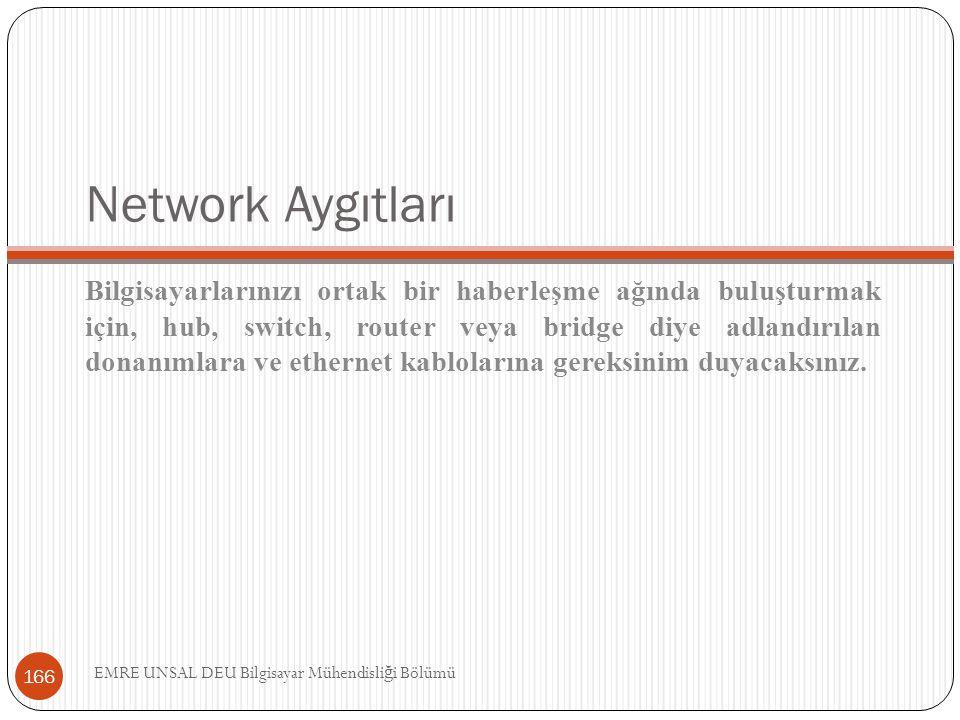 Network Aygıtları