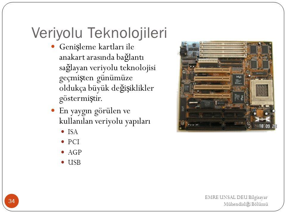 Veriyolu Teknolojileri