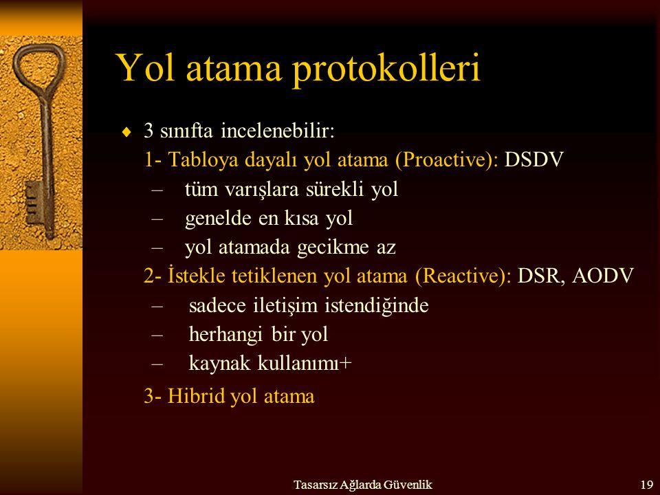Yol atama protokolleri
