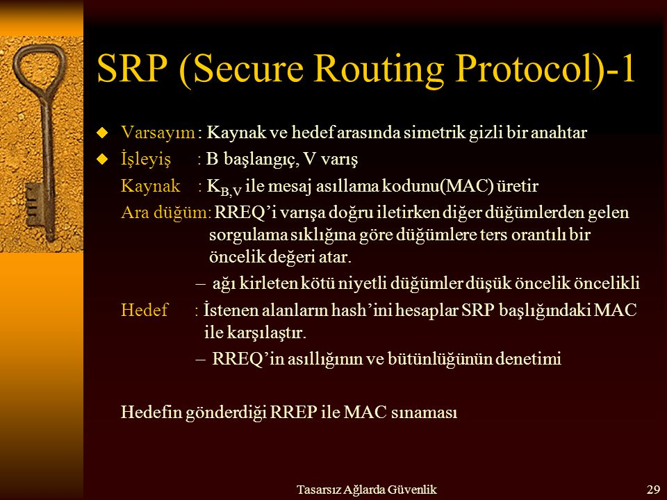 SRP (Secure Routing Protocol)-1