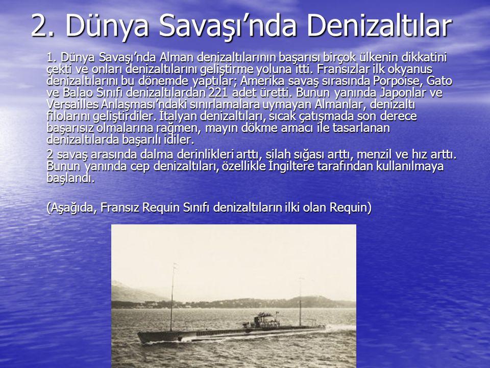 2. Dünya Savaşı'nda Denizaltılar