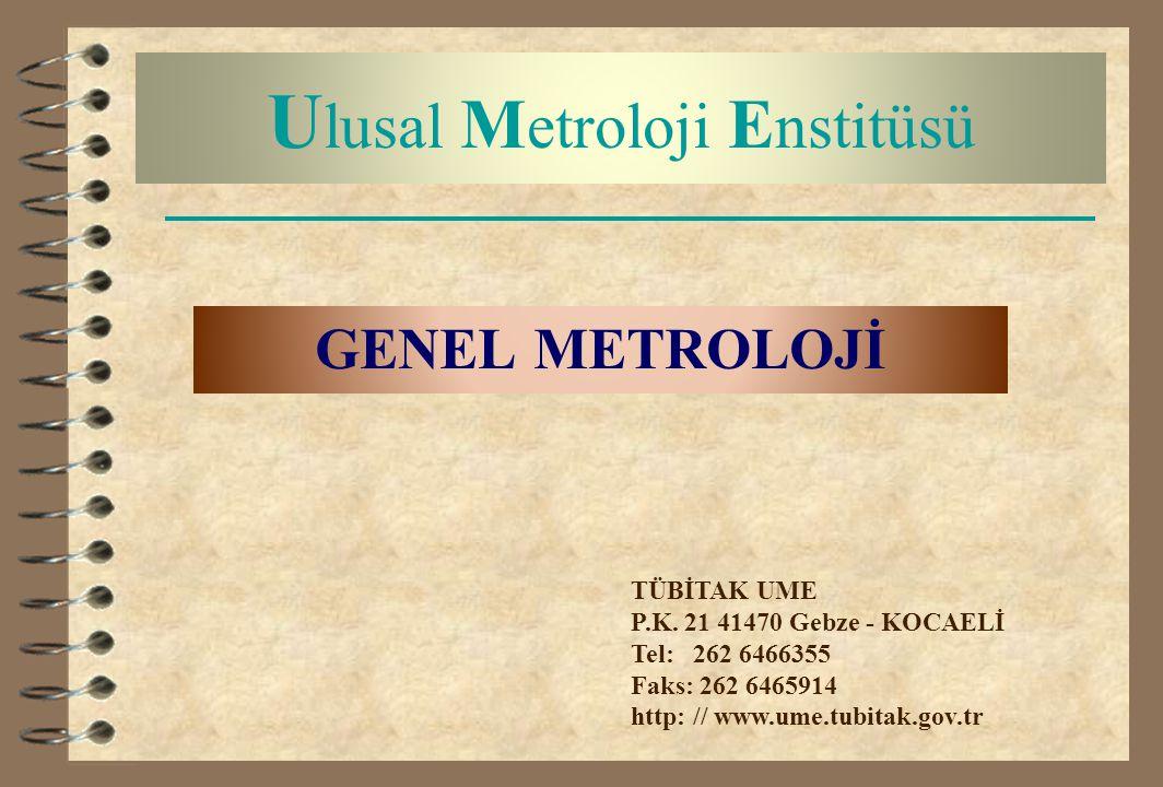 Ulusal Metroloji Enstitüsü