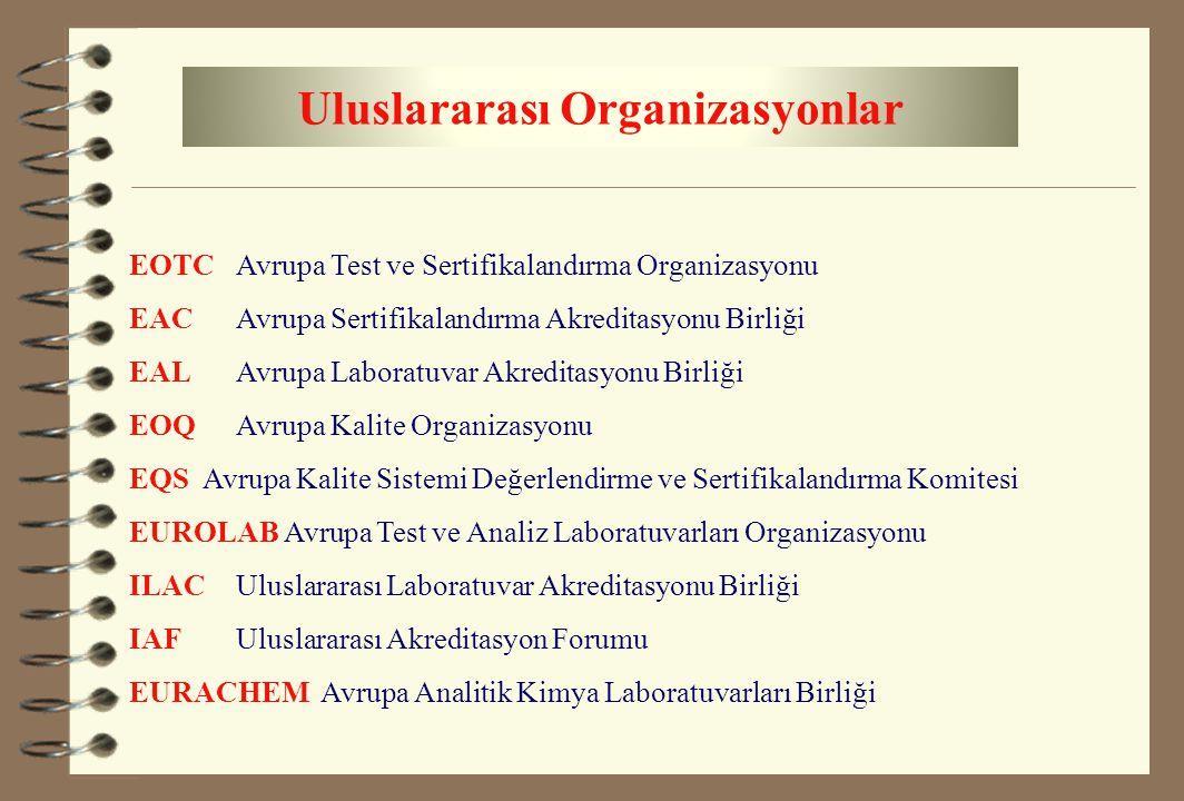 Uluslararası Organizasyonlar
