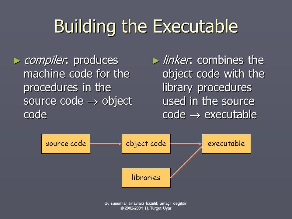 Building the Executable