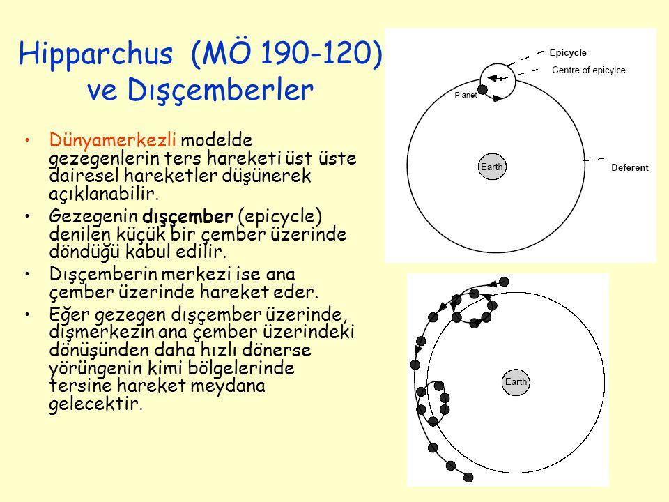 Hipparchus (MÖ 190-120) ve Dışçemberler