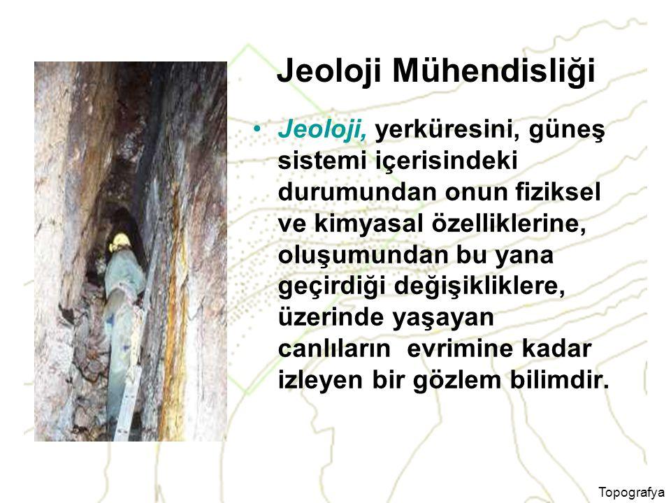Jeoloji Mühendisliği