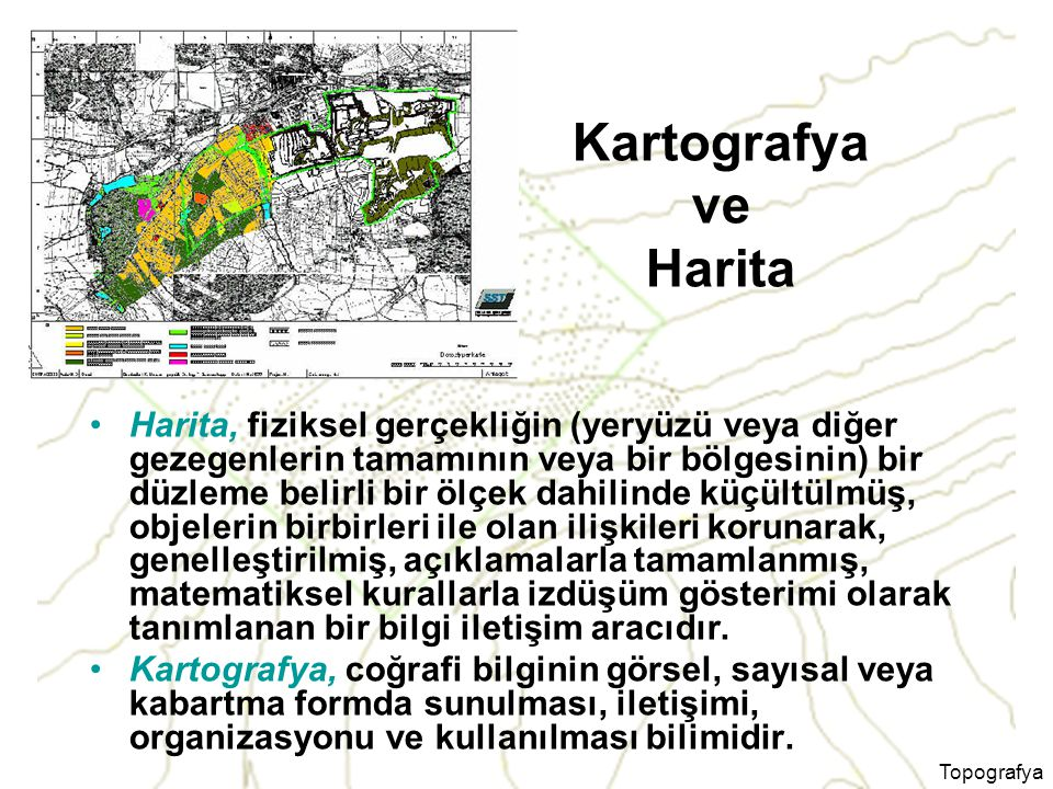 Kartografya ve Harita