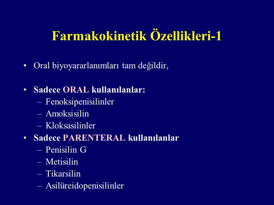 Farmakokinetik Özellikleri-1