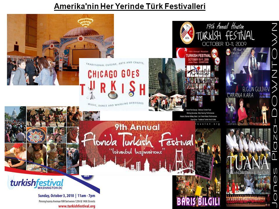 Amerika nin Her Yerinde Türk Festivalleri