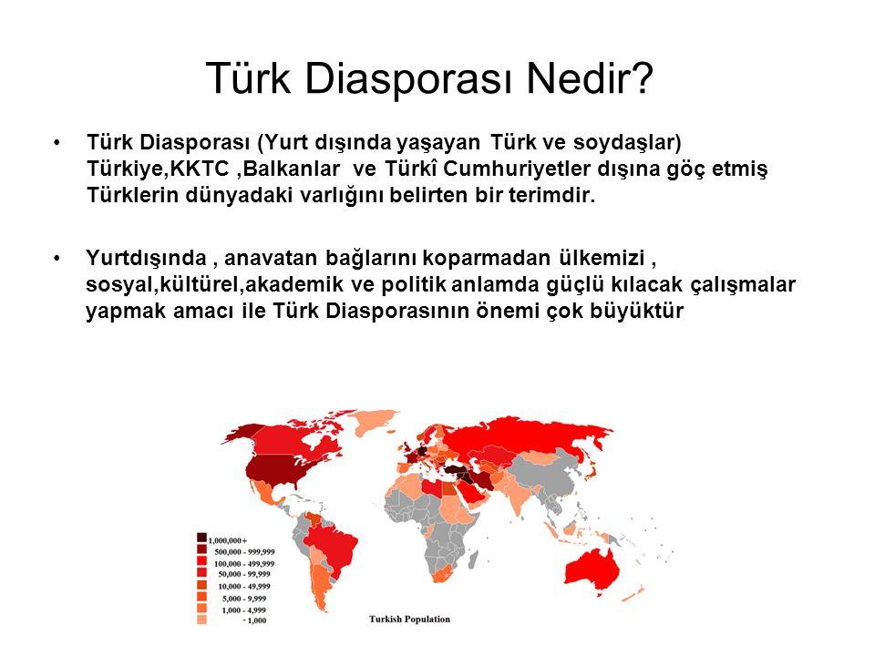 Türk Diasporası Nedir