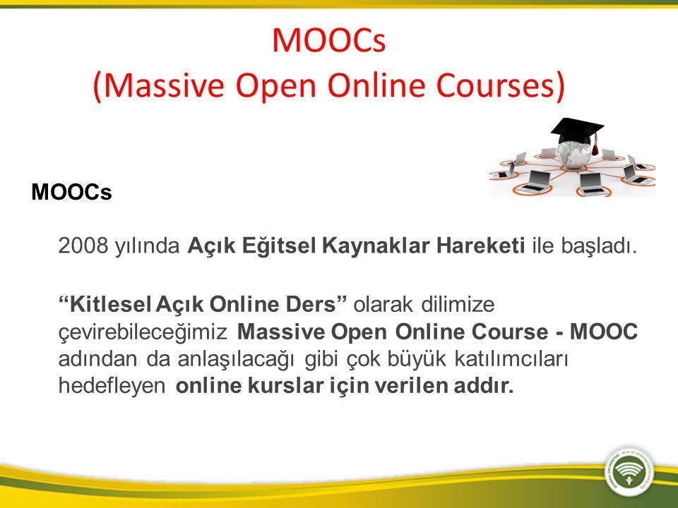MOOCs (Massive Open Online Courses)